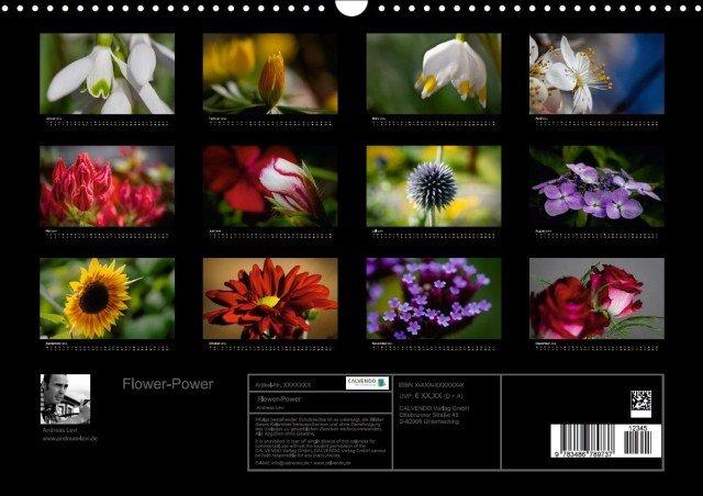 Kalender Flower-Power