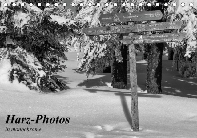Harz-Photos in monochrome