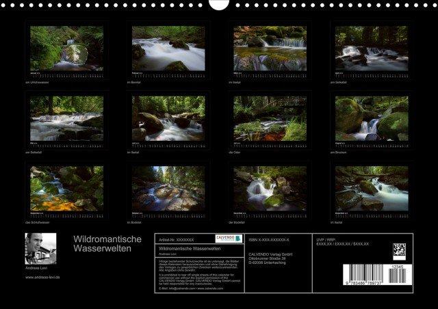 Fotokalender Harz - Wildromantische Wasserwelten