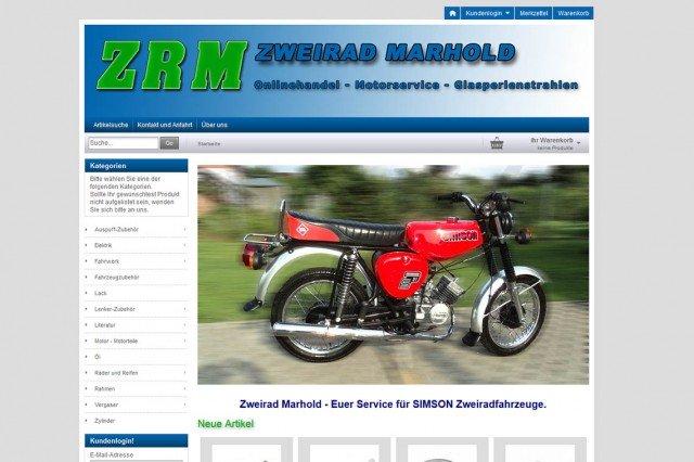 Zweirad Marhold - Onlineshop für SIMSON Zweiradfahrzeuge