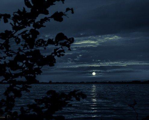abends am Stausee Kelbra © Andreas Levi - Foto-Wandern.com