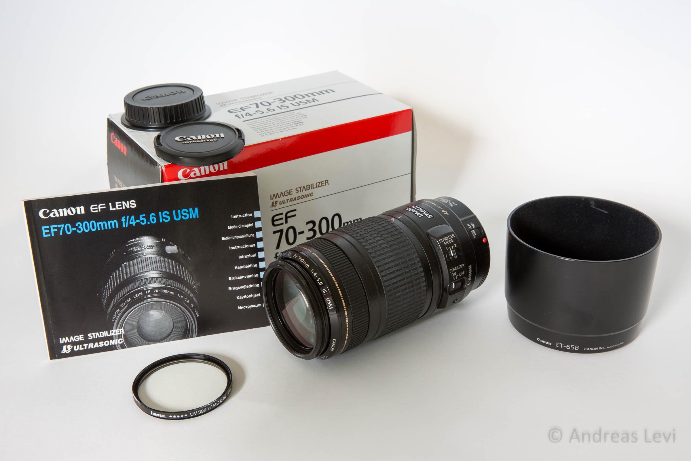 Canon EF 70-300mm f/4-5.6 IS USM abzugeben