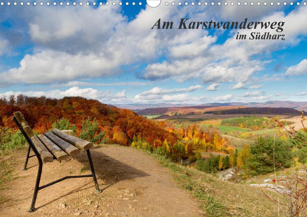Fotokalender Am Karstwandwerweg im Südharz