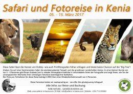 Safari und Fotoreise in Kenia März 2017