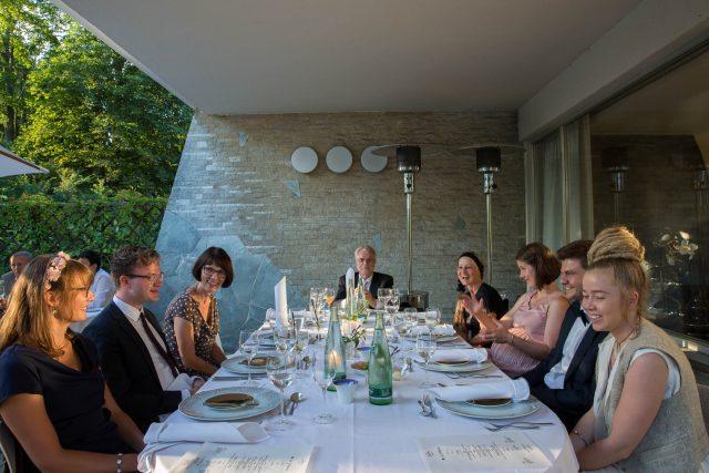 Hochzeit Anika & Nic - Abendessen