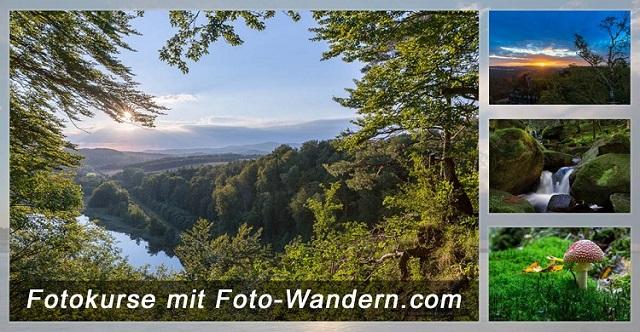 Gutschein für Fotokurse, Fotowanderungen und Fotoreisen mit Foto-Wandern.com