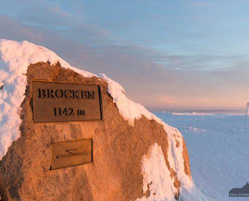 Landschaftsfotografie - Winter auf dem Brocken im Harz