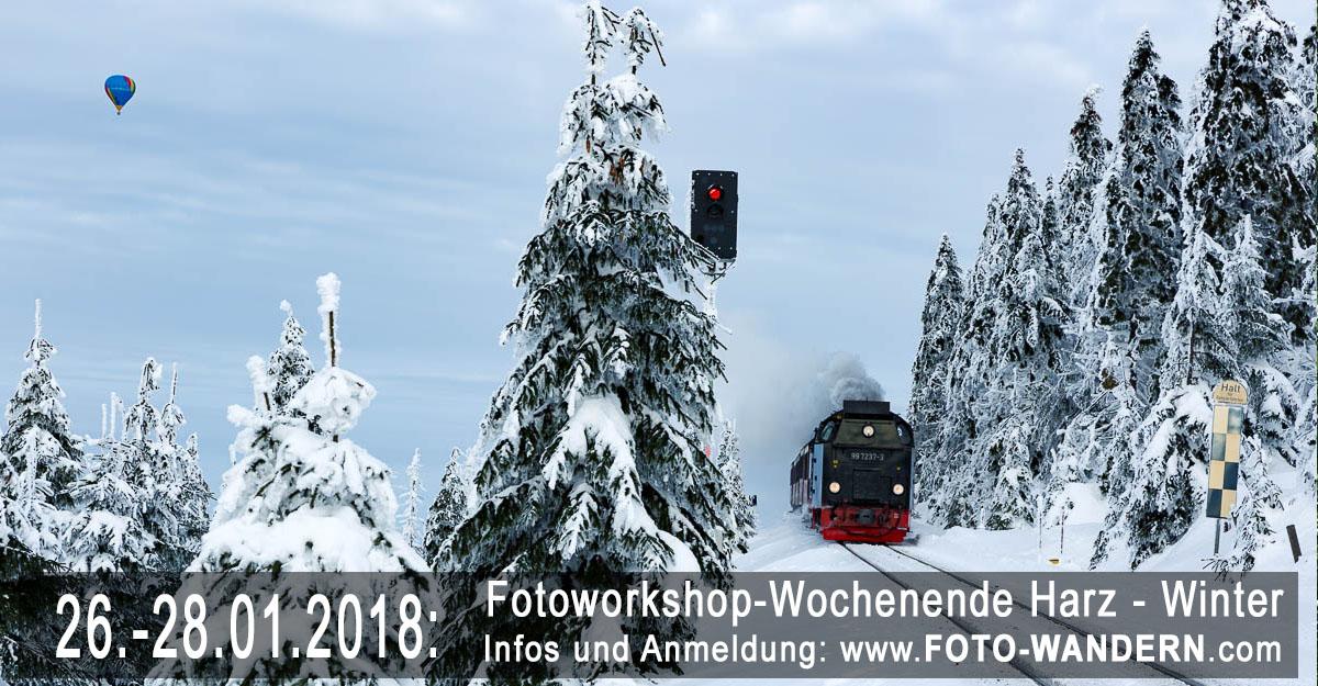 Fotoworkshop-Wochenende im Harz – Winter 2018
