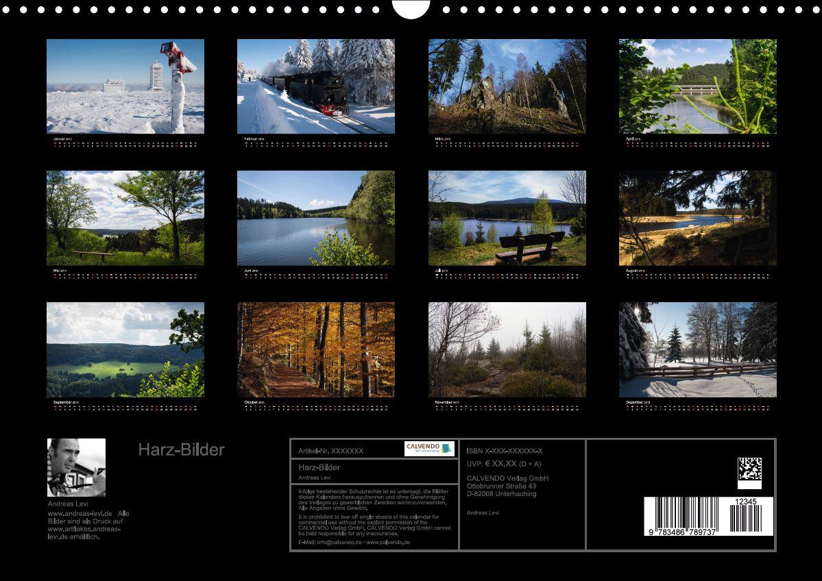 Kalender Harz-Bilder