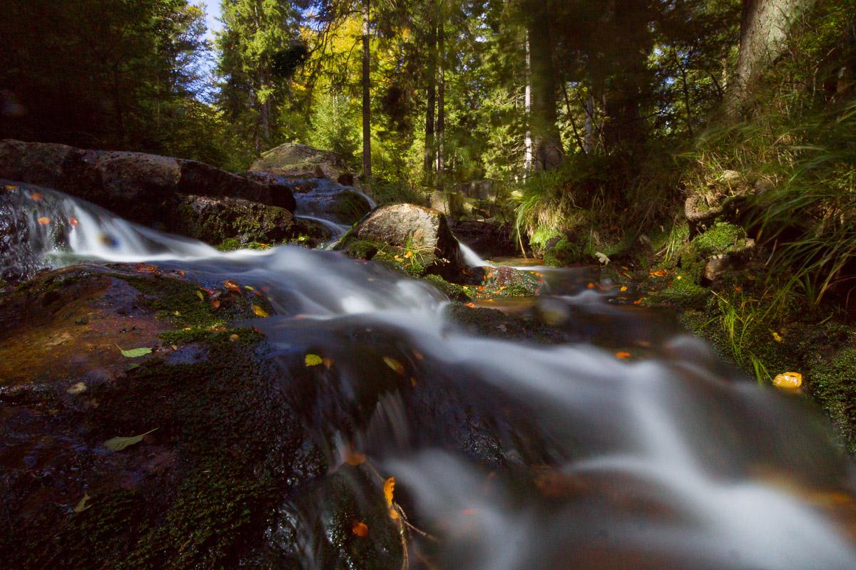 Unterer Bodefall im Harz