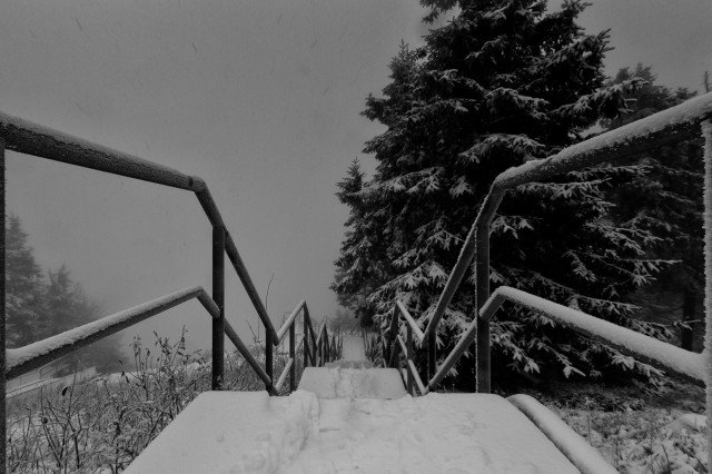 Winter auf dem Wurmberg im Harz
