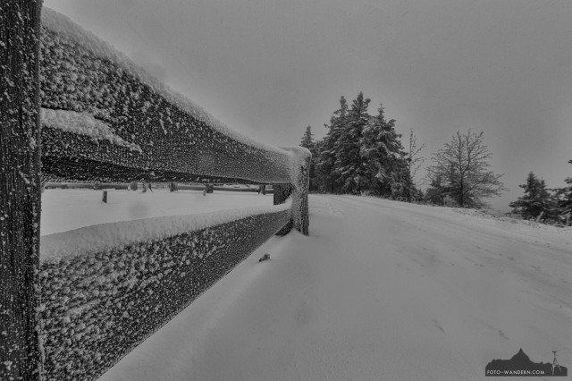 Winteranfang auf dem Wurmberg  im Harz