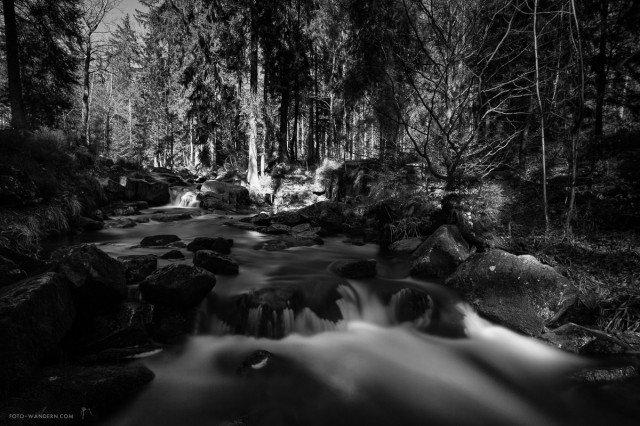 an den bodefällen im Harz - Andreas Levi