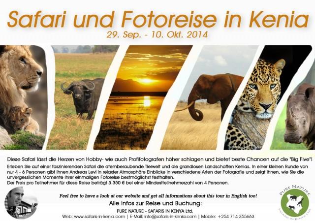 Safari und Fotoreise Kenia