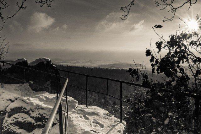 Bielsteine im Naturpark Südharz