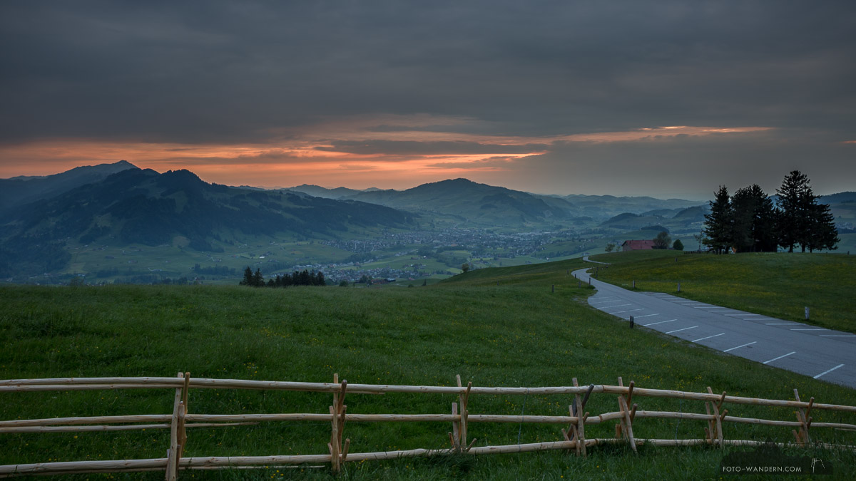 Sonnenuntergang in Appenzell © Andreas Levi