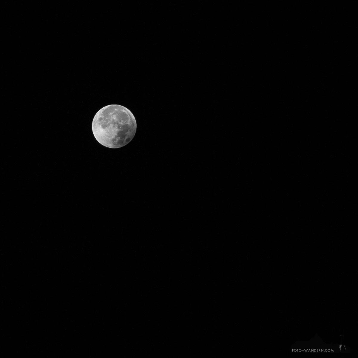 Mondfinsternis 2015 © Andreas Levi - Foto-Wandern.com