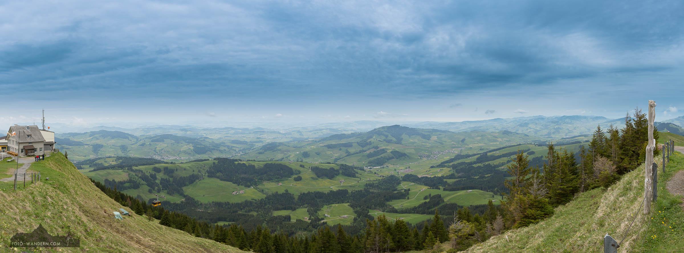 Kronberg im Appenzellerland © Andreas Levi - Foto-Wandern.com