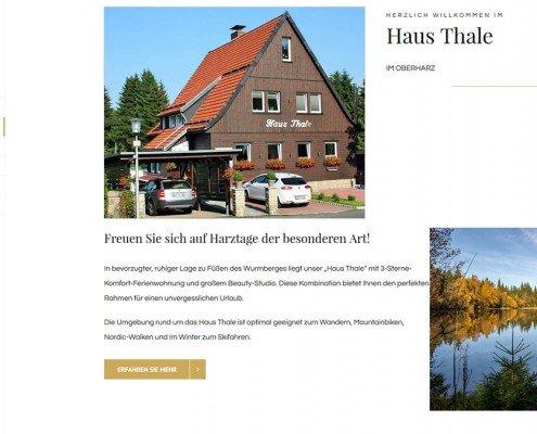 Haus Thale Harz in Braunlage