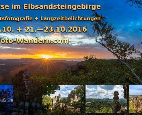 Herbst-Fotokurse in der Sächsischen Schweiz