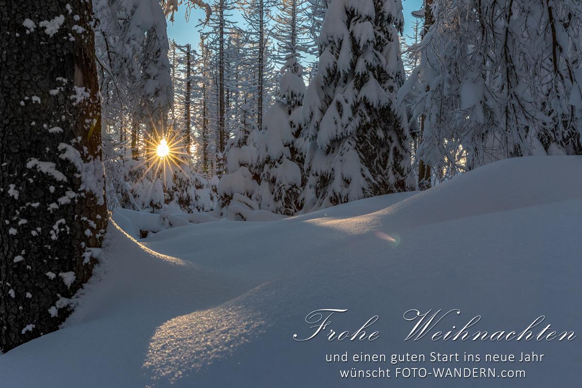 Frohe Weihnachten wünscht FOTO-WANDERN.com
