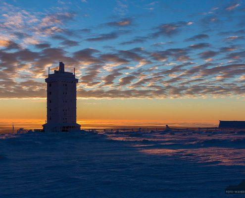 Landschaftsfotografie- Winter auf dem Brocken im Harz