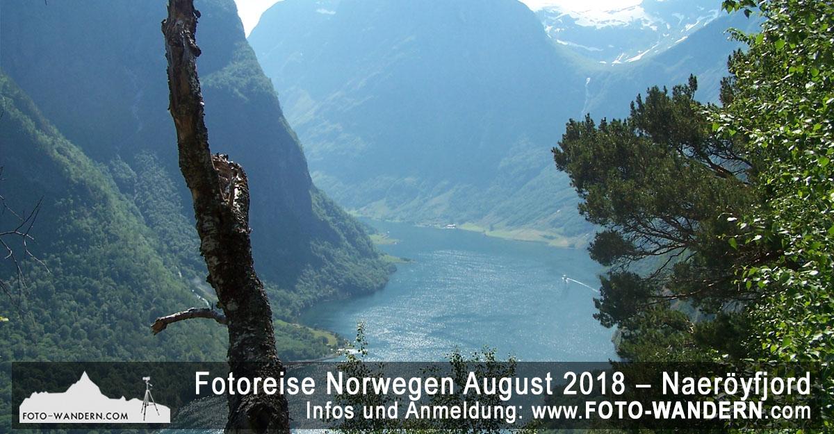 Fotoreise Norwegen August 2018 – Naeröyfjord