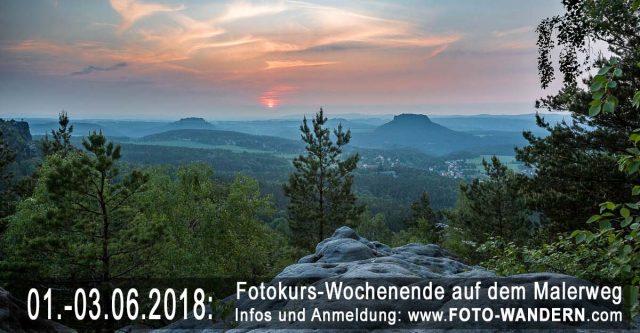 Fotokurs-Wochenende auf dem Malerweg 2018-06