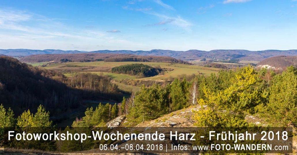 Fotoworkshop-Wochenende-Harz - Frühjahr 2018