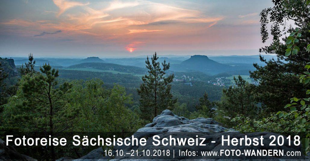 Fotoreise Sächsische Schweiz - Herbst 2018
