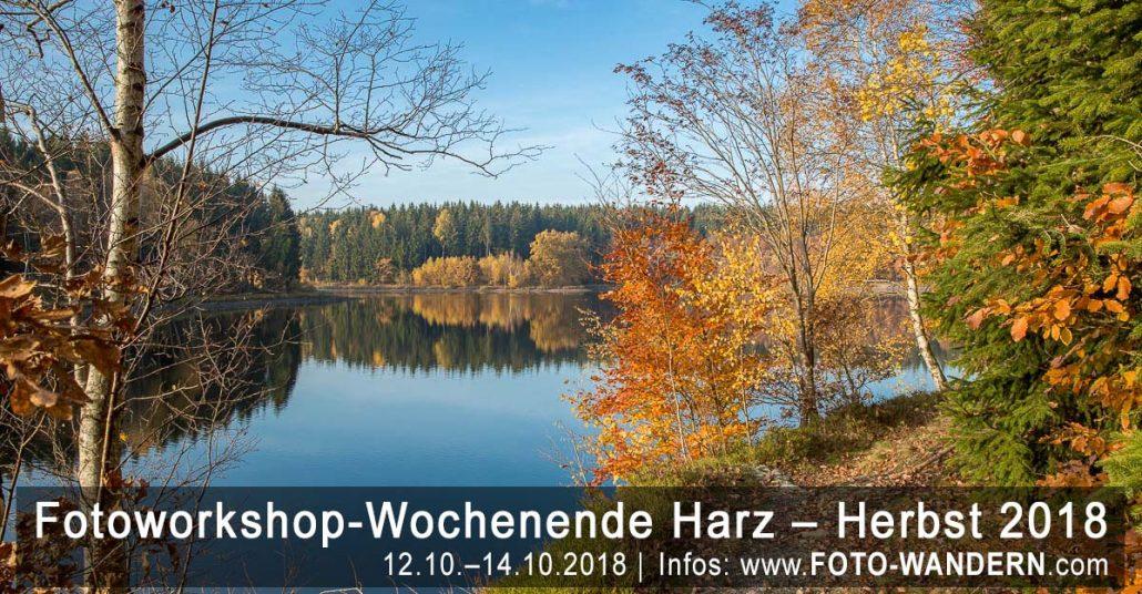 Fotoworkshop-Wochenende-Harz - Herbst 2018