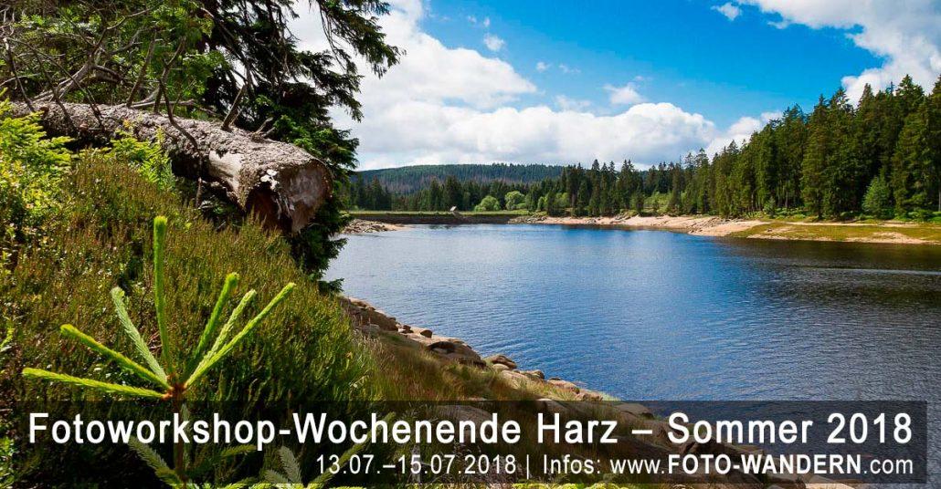 Fotoworkshop-Wochenende-Harz - Sommer 2018