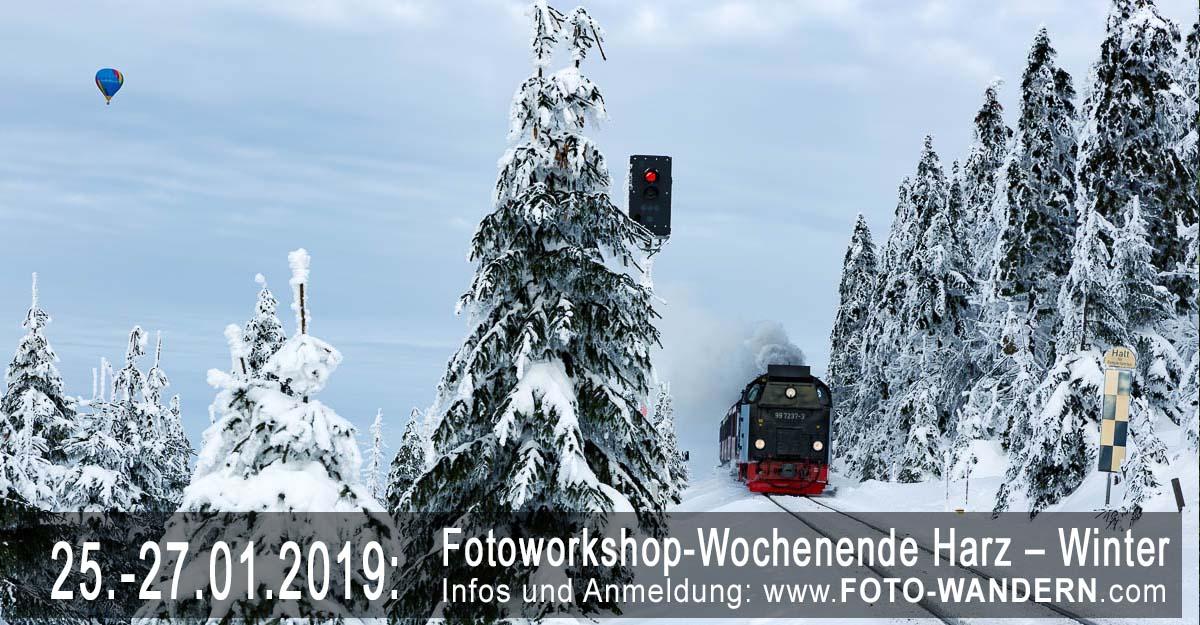Fotoworkshop-Wochenende-Harz - Winter 2019
