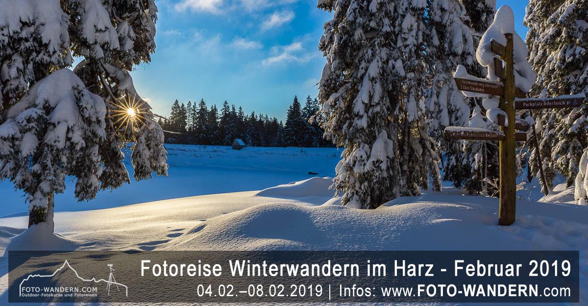 Fotoreise Winterwandern im Harz - Februar 2019