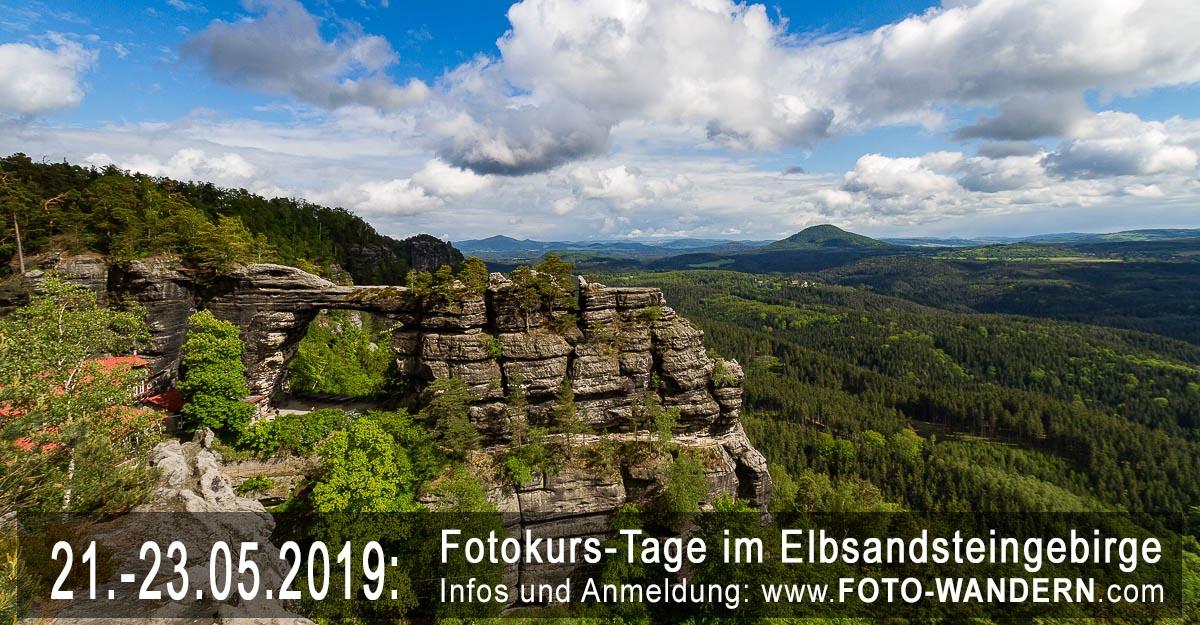 Fotokurs-Tage im Elbsandsteingebirge- Mai 2019