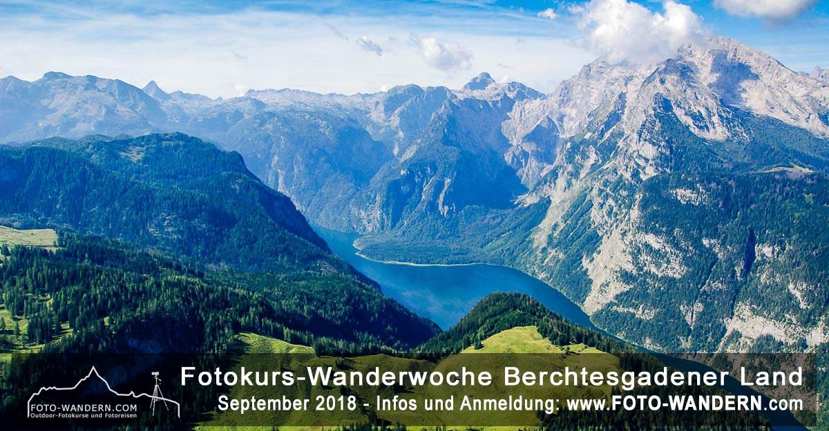 Fotokurs Wanderwoche Berchtesgadener Land September 2019