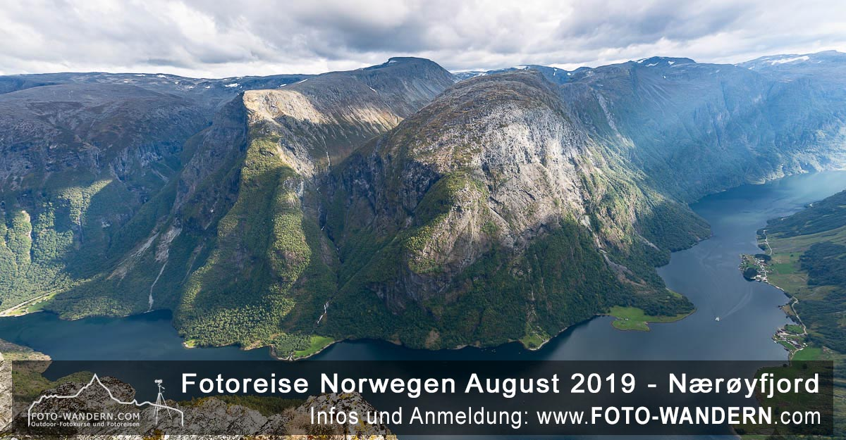 Norwegen 2019 - Nærøyfjord