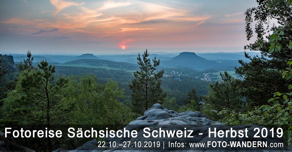 Fotoreise Sächsische Schweiz - Herbst 2019