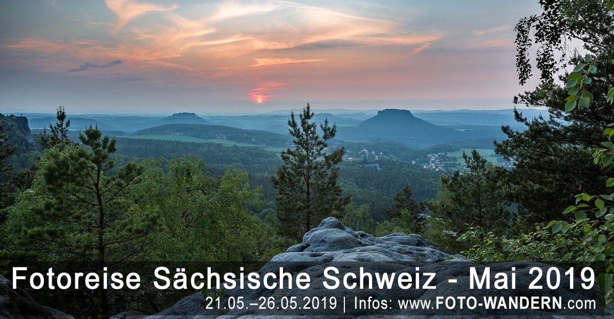 Fotoreise Sächsische Schweiz - Mai 2019