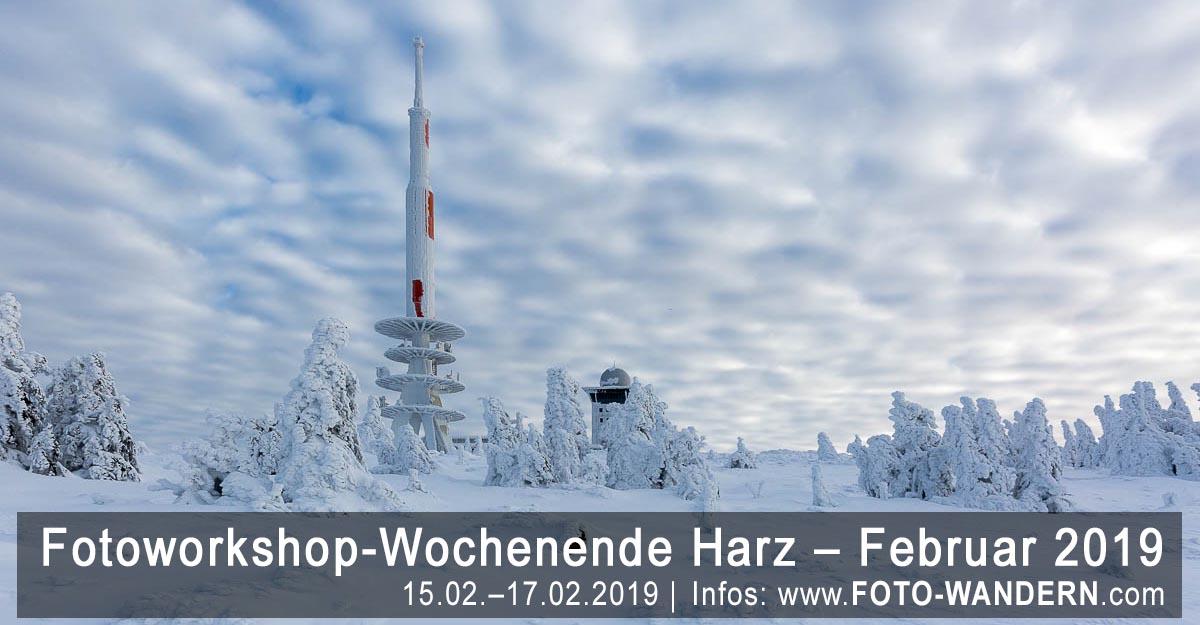 Fotoworkshop-Wochenende-Harz - Februar 2019