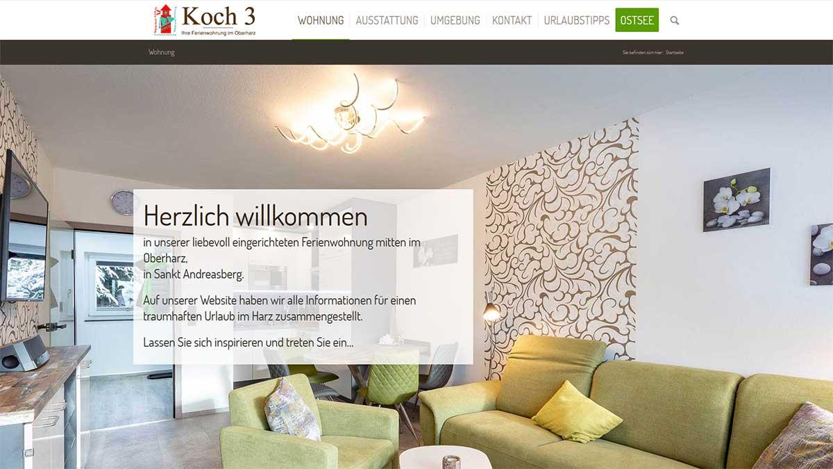 Ferienwohnung Koch 3 im Oberharz