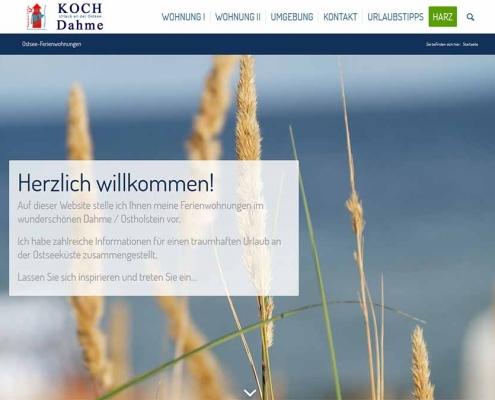 Ferienwohnungen Koch - Dahme (Ostsee)