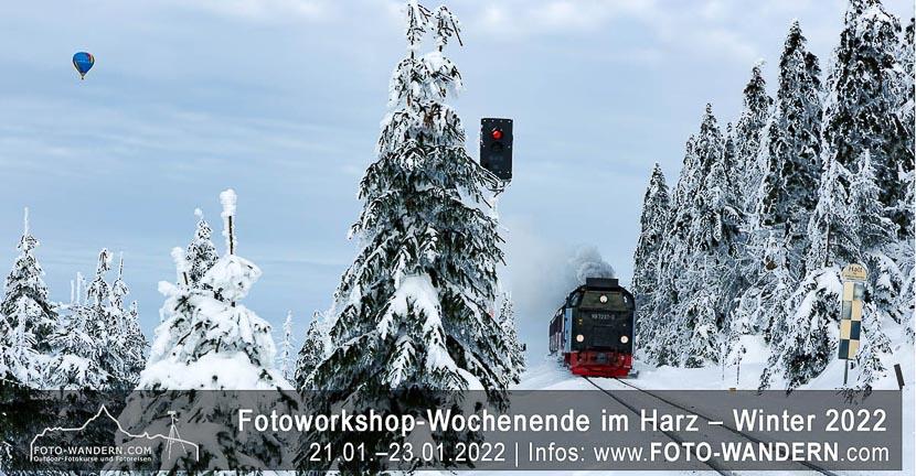 Fotoreise Harz - Winter