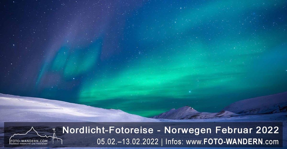 Nordlicht-Fotoreise Norwegen 2022