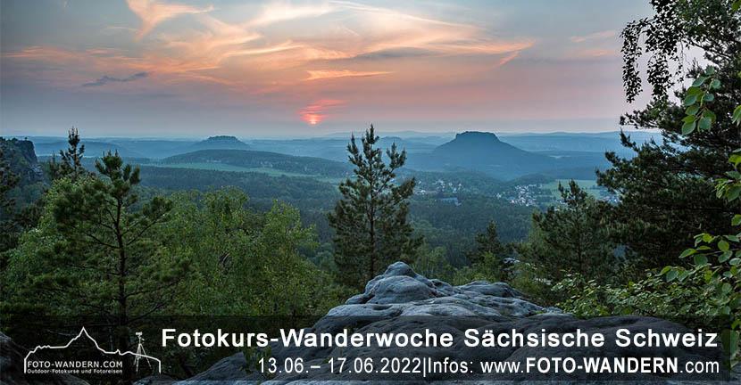 Fotokurs-Wanderwoche Sächsische Schweiz – Juni 2022