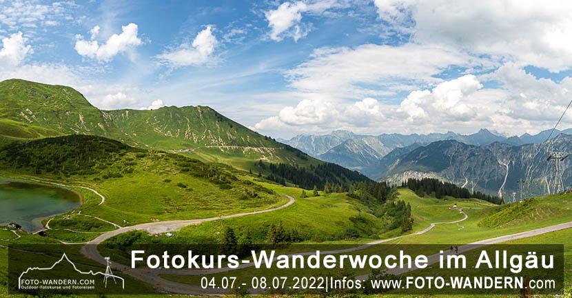 Fotokurs-Wanderwoche im Allgäu – Juli 2022