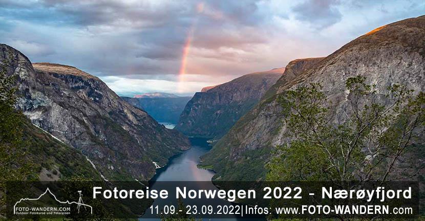 Fotoreise Norwegen September 2022 – Naeröyfjord